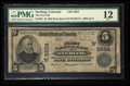 National Bank Notes:Colorado, Sterling, CO - $5 1902 Plain Back Fr. 607 The First NB Ch. #(W)5624. ...