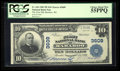 National Bank Notes:Wisconsin, Baraboo, WI - $10 1902 Plain Back Fr. 626 The First NB Ch. # 3609. ...