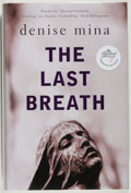 Books:Mystery & Detective Fiction, Denise Mina. SIGNED. The Last Breath. London: Bantam Press, 2007.First English edition. Signed by the author on the title...
