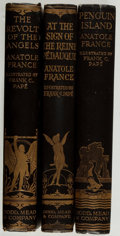 Books:Literature Pre-1900, [Frank C. Pape, illustrator]. Anatole France. Three TitlesIllustrated by Pape, including: The Revolt of the Angels...(Total: 3 Items)