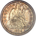 Proof Seated Dimes, 1859 10C Transitional PR66 PCGS. CAC. Judd-233, Pollock-280, HighR.6.. ...