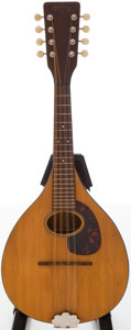 Musical Instruments:Banjos, Mandolins, & Ukes, 1965 Martin A Model Natural Mandolin, #24384....