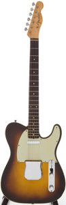 Musical Instruments:Electric Guitars, 1960 Fender Telecaster Custom Sunburst Solid Body Electric Guitar,Serial # 49600....