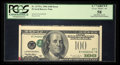 Error Notes:Inverted Third Printings, Fr. 2175-L $100 1996 Federal Reserve Note. PCGS Apparent ChoiceAbout New 58.. ...