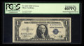 Error Notes:Obstruction Errors, Fr. 1612 $1 1935C Silver Certificate. PCGS Extremely Fine 40PPQ.....