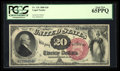 Large Size:Legal Tender Notes, Fr. 135 $20 1880 Legal Tender PCGS Gem New 65PPQ.. ...
