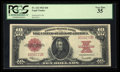 Large Size:Legal Tender Notes, Fr. 123 $10 1923 Legal Tender PCGS Very Fine 35.. ...