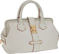 Luxury Accessories:Bags, Louis Vuitton White Suhali Leather L'Ingenieux Doctor Bag. ...