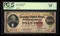 Large Size:Gold Certificates, Fr. 1215 $100 1922 Gold Certificate PCGS Very Fine 20.. ...