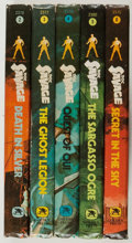 Books:Children's Books, Kenneth Robeson. Group of Five Doc Savage Juvenile Books. Racine:Golden Press, [1975]. Five octavo volumes. Publisher's bin...(Total: 5 Items)