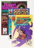 Modern Age (1980-Present):Humor, Groo the Wanderer Plus Group (Pacific Comics/Marvel, 1982-91)....(Total: 3 Comic Books)