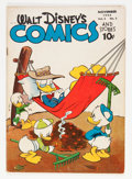 Golden Age (1938-1955):Cartoon Character, Walt Disney's Comics and Stories #50 (Dell, 1944) Condition: VG....