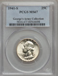 Washington Quarters, 1941-S 25C MS67 PCGS....