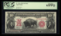 Large Size:Legal Tender Notes, Fr. 121 $10 1901 Mule Legal Tender PCGS Gem New 65PPQ.. ...