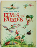 Books:Children's Books, Jane Werner. The Giant Golden Book of Elves and Fairies WithAssorted Pixies, Mermaids, Brownies, Witches, and Leprechau...