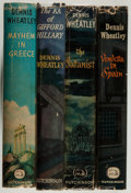 Books:Mystery & Detective Fiction, Dennis Wheatley. Group of Four Books, including: The Ka ofGifford Hillary. [1956]. Inscribed by Wheatley on tit...(Total: 4 Items)
