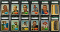 Football Cards:Sets, 1960 Topps Football Near Set (98/132) - #1 on the SGC Set Registry!...