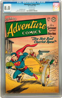 Adventure Comics #177 (DC, 1952) CGC VF 8.0 Off-white pages