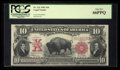 Large Size:Legal Tender Notes, Fr. 122 $10 1901 Legal Tender PCGS Gem New 66PPQ.. ...
