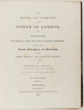 Books:Art & Architecture, John Bayley. The History and Antiquities of the Tower ofLondon. In Two Parts. London: Cadell, 1821. First editi...