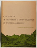 Books:Books about Books, [Books about Books]. [Colton Storm, compiler]. A Catalogue of the Everett D. Graff Collection of Western Americana....