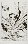 Original Comic Art:Splash Pages, Angel Gabriele Mister Miracle and Oberon Pin-Up IllustrationOriginal Art (undated). ...