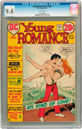 Bronze Age (1970-1979):Romance, Young Romance #186 (DC, 1972) CGC NM 9.4 White pages....