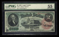 Large Size:Legal Tender Notes, Fr. 42 $2 1869 Legal Tender PMG About Uncirculated 55.. ...