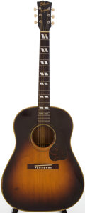 Musical Instruments:Acoustic Guitars, Early 1940s Gibson SJ Sunburst Acoustic Guitar, #2694....