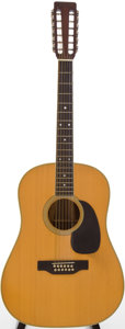 Musical Instruments:Acoustic Guitars, 1969 Martin D-12-35 Natural 12-String Acoustic Guitar, Serial # 243583....