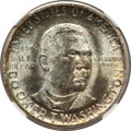 Commemorative Silver: , 1946-S 50C Booker T. Washington MS67 NGC. NGC Census: (73/2). PCGSPopulation (56/0). Mintage: 500,279. Numismedia Wsl. Pri...