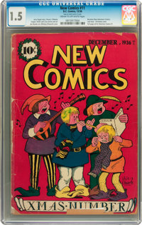New Comics #11 (DC, 1936) CGC FR/GD 1.5 Cream to off-white pages