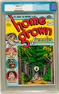 Home Grown Funnies #nn (Kitchen Sink, 1971) CGC NM/MT 9.8 Cream to off-white pages