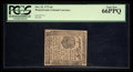 Colonial Notes:Pennsylvania, Pennsylvania October 25, 1775 4d PCGS Gem New 66PPQ.. ...
