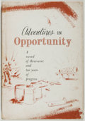 Books:Americana & American History, William Barton Marsh. Adventures in Opportunity. Being theRemarkable Story of Herbert L. Carpenter and the CarpenterCo...