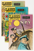 Golden Age (1938-1955):Classics Illustrated, Classics Illustrated First Editions Group (Gilberton, 1948-50) Condition: Average VG-.... (Total: 14 Comic Books)