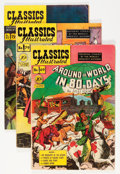 Golden Age (1938-1955):Classics Illustrated, Classics Illustrated First Editions Group (Gilberton, 1950-52)Condition: Average VG+.... (Total: 15 Comic Books)