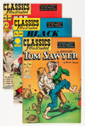 Golden Age (1938-1955):Classics Illustrated, Classics Illustrated First Editions Group (Gilberton, 1948-51)Condition: Average FN+.... (Total: 5 Comic Books)