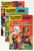 Silver Age (1956-1969):Classics Illustrated, Classics Illustrated First Editions Group (Gilberton, 1948-50)Condition: Average VG/FN.... (Total: 9 Comic Books)