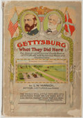 """Books:Americana & American History, L. W. Minnigh. Gettysburg: """"What They Did Here"""". Gettysburg: Bookmart, 1954. Octavo. 200 pages. Illustrated. Fol..."""