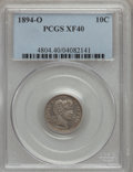 Barber Dimes: , 1894-O 10C XF40 PCGS. PCGS Population (14/63). NGC Census: (6/46). Mintage: 720,000. Numismedia Wsl. Price for problem free...