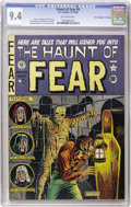 "Golden Age (1938-1955):Horror, Haunt of Fear #4 Davis Crippen (""D"" Copy) pedigree (EC, 1950) CGCNM 9.4 Off-white pages. This is perhaps the nicest of the ..."