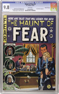 Golden Age (1938-1955):Horror, Haunt of Fear #6 Gaines File pedigree 9/11 (EC, 1951) CGC NM/MT 9.8White pages. It just doesn't get much better than this -...