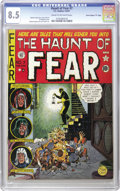 "Golden Age (1938-1955):Horror, Haunt of Fear #7 Davis Crippen (""D"" Copy) pedigree (EC, 1951) CGCVF+ 8.5 Cream to off-white pages. This issue's cover by Jo..."