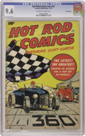 Golden Age (1938-1955):Miscellaneous, Hot Rod Comics #nn (#1) Crowley Copy pedigree (Fawcett, 1951) CGC NM+ 9.6 Off-white to white pages. Several publishers tried...