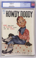 Golden Age (1938-1955):Humor, Howdy Doody #1 File Copy (Dell, 1950) CGC VF/NM 9.0 Cream to off-white pages. The television star debuts in his very own com...