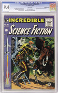 Golden Age (1938-1955):Science Fiction, Incredible Science Fiction #31 Gaines File pedigree 2/12 (EC, 1955)CGC NM 9.4 White pages. Just one other Gaines File Copy ...