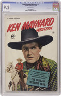 Golden Age (1938-1955):Western, Ken Maynard Western #1 Crowley Copy pedigree (Fawcett, 1950) CGCNM- 9.2 Off-white pages. This first issue of the famous Wes...