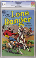 Golden Age (1938-1955):Western, Lone Ranger #23 Mile High pedigree (Dell, 1950) CGC NM 9.4 Whitepages. Here's another example of the Mile High copy outdist...