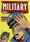 Golden Age (1938-1955):War, Military Comics #39 San Francisco pedigree (Quality, 1945)Condition: VF/NM. Overall this book's got a NM or better lookabo...